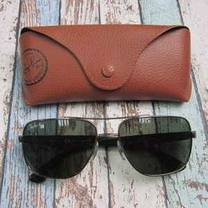 Ray Ban RB 3483 004/58 Unisex Sunglasses/OLZ447